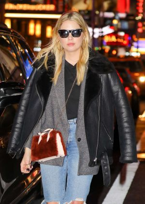 Ashley Benson out and about in NYC