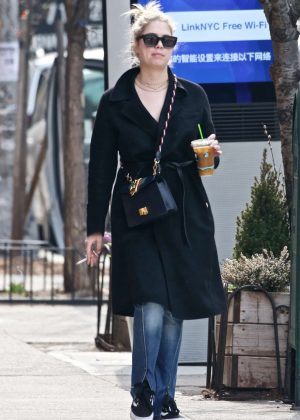 Ashley Benson - Out and about in NYC