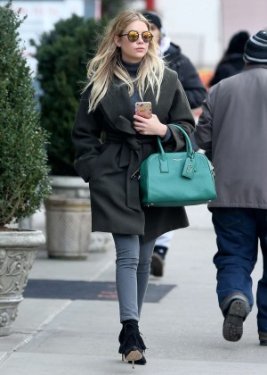 Ashley Benson - Out and about in SoHo