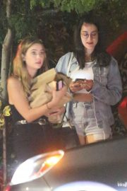 Ashley Benson - Out for dinner with a friend in Los Feliz