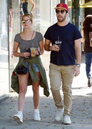 Ashley Benson - Out for lunch in Beverly Hills