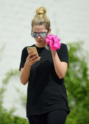 Ashley Benson out in LA