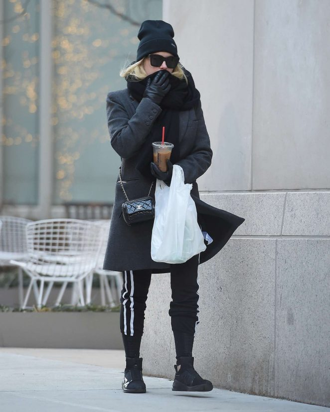 Ashley Benson out in New York City