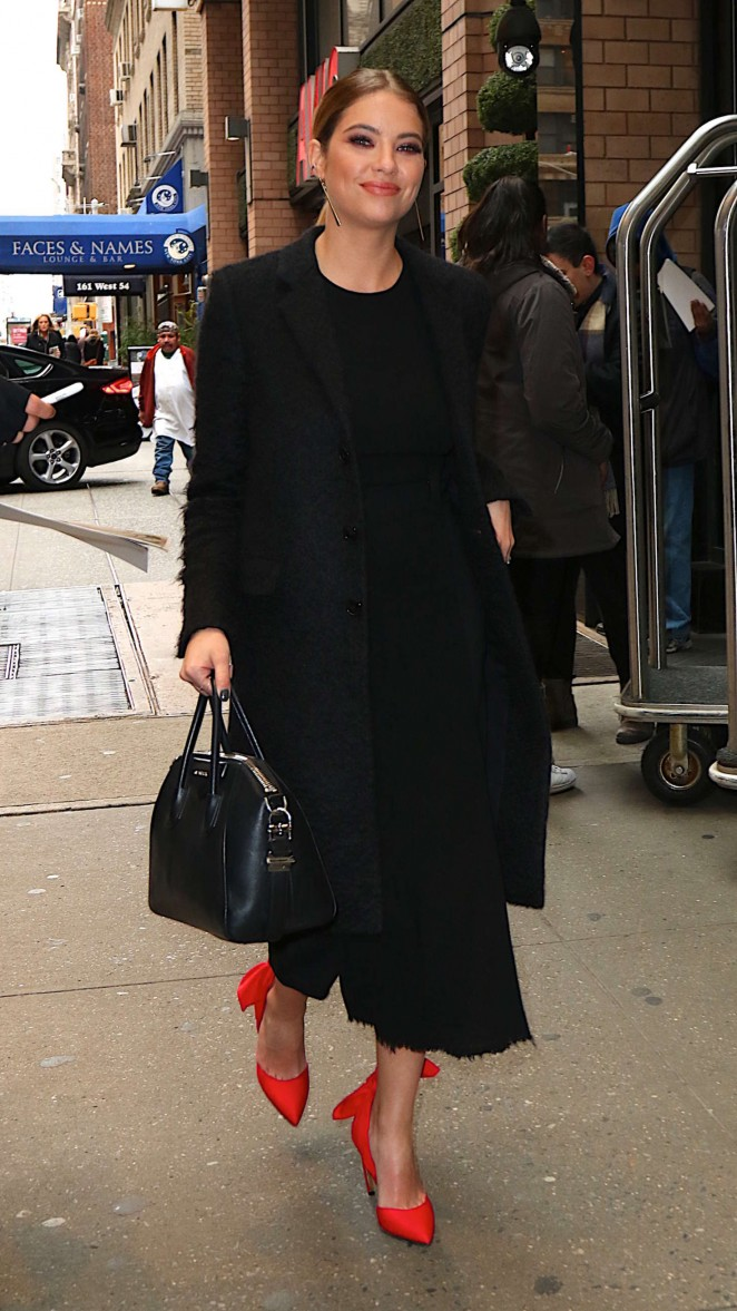 Ashley Benson Out in New York