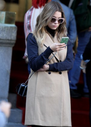 Ashley Benson - Out in NY