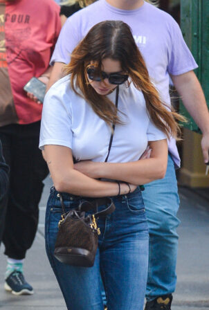 Ashley Benson - out in NYC