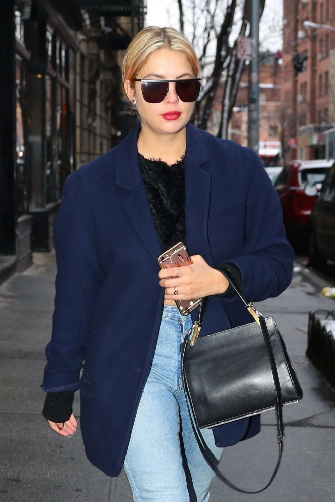 Ashley Benson out shopping in the West Village