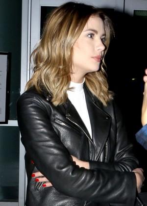 Ashley Benson - Outside Staples Center for Justin Bieber's concert in LA