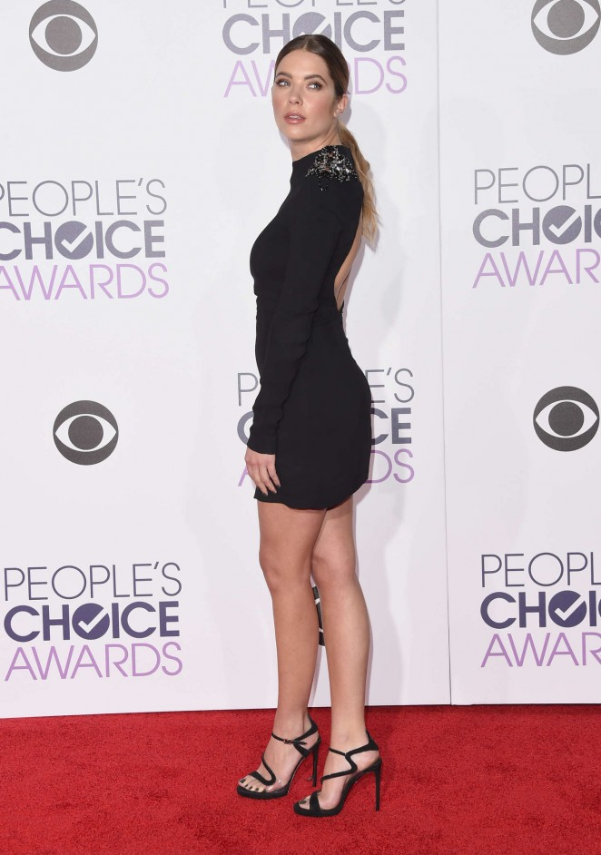 Ashley Benson - People's Choice Awards 2016 in Los Angeles
