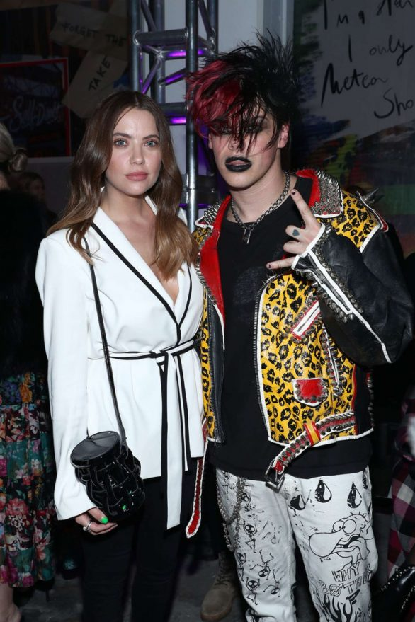 Ashley Benson - Pictured at e1972 show at New York Fashion Week
