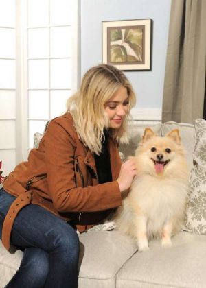 Ashley Benson - Promoting PayPal's #GivingTuesday Promotion in NY