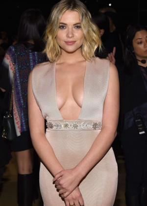 Ashley Benson - Reem Acra Fashion Show 2015 in NY