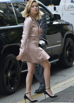 Ashley Benson - Seen at Le Coucou French Restaurant in New York City