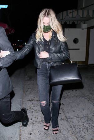 Ashley Benson - Seen leaving Delilah in West Hollywood