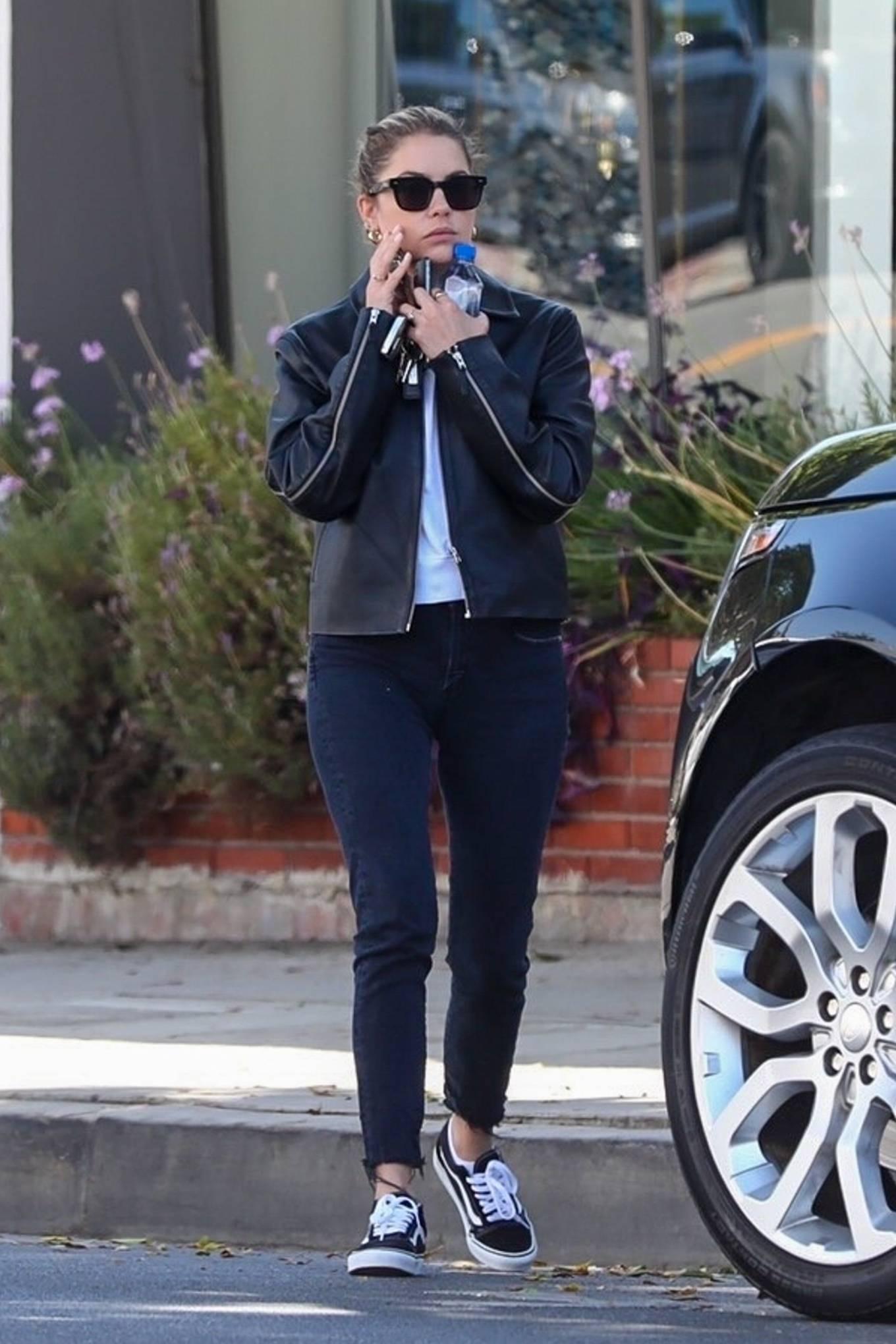 Ashley Benson - Seen running a few errands in Los Angeles