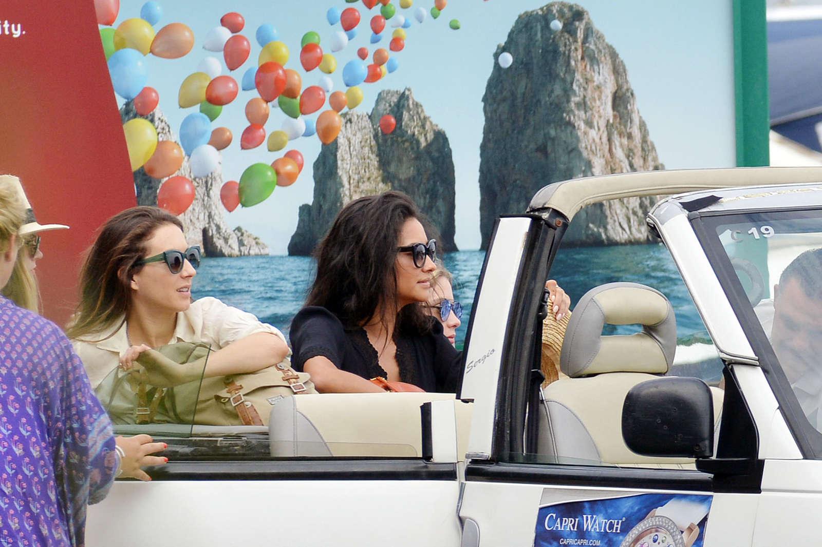 Ashley Benson 2016 : Ashley Benson, Shay Mitchell and Troian Bellisario on a boat in Capri -02