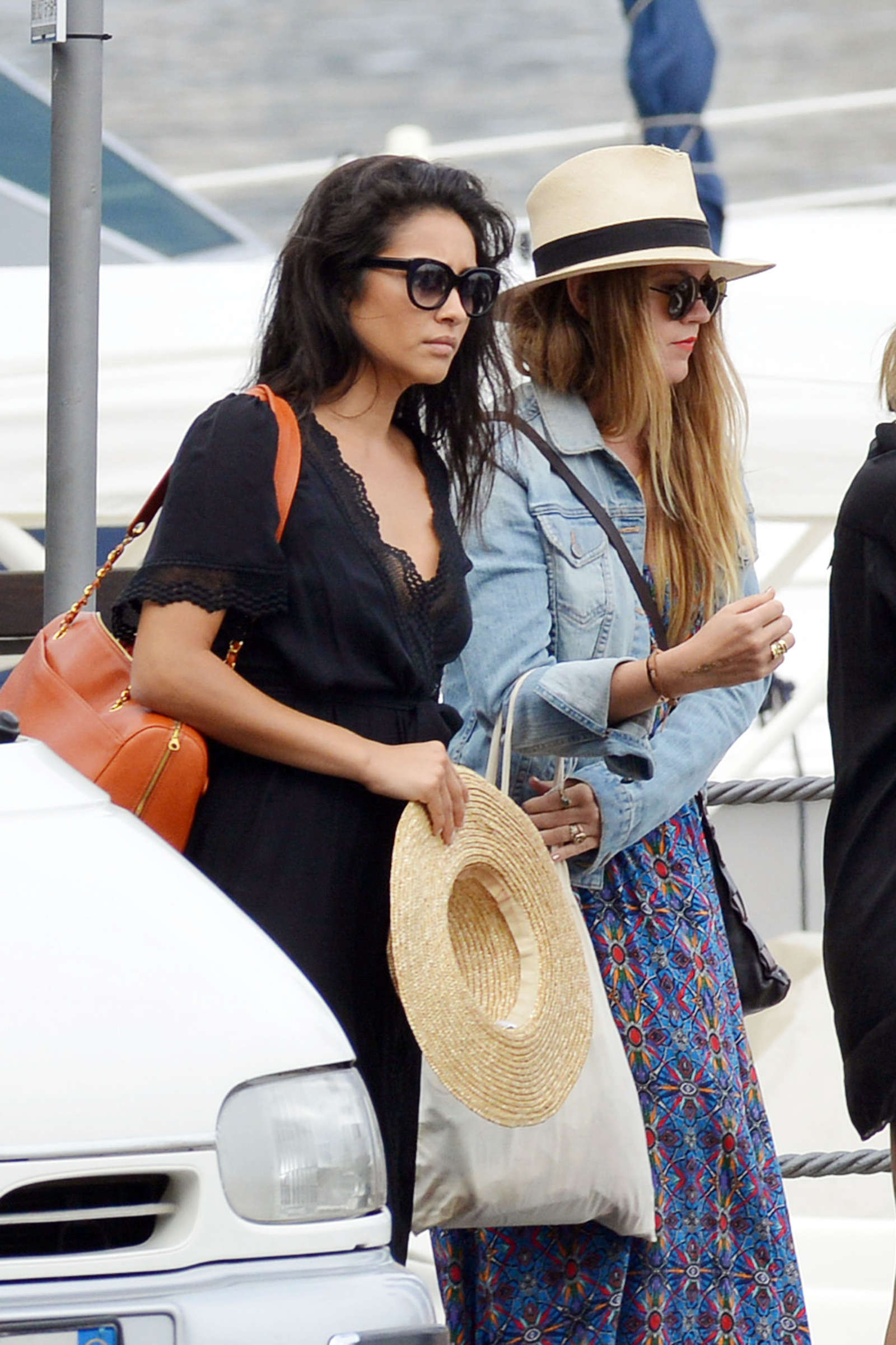 Ashley Benson 2016 : Ashley Benson, Shay Mitchell and Troian Bellisario on a boat in Capri -04
