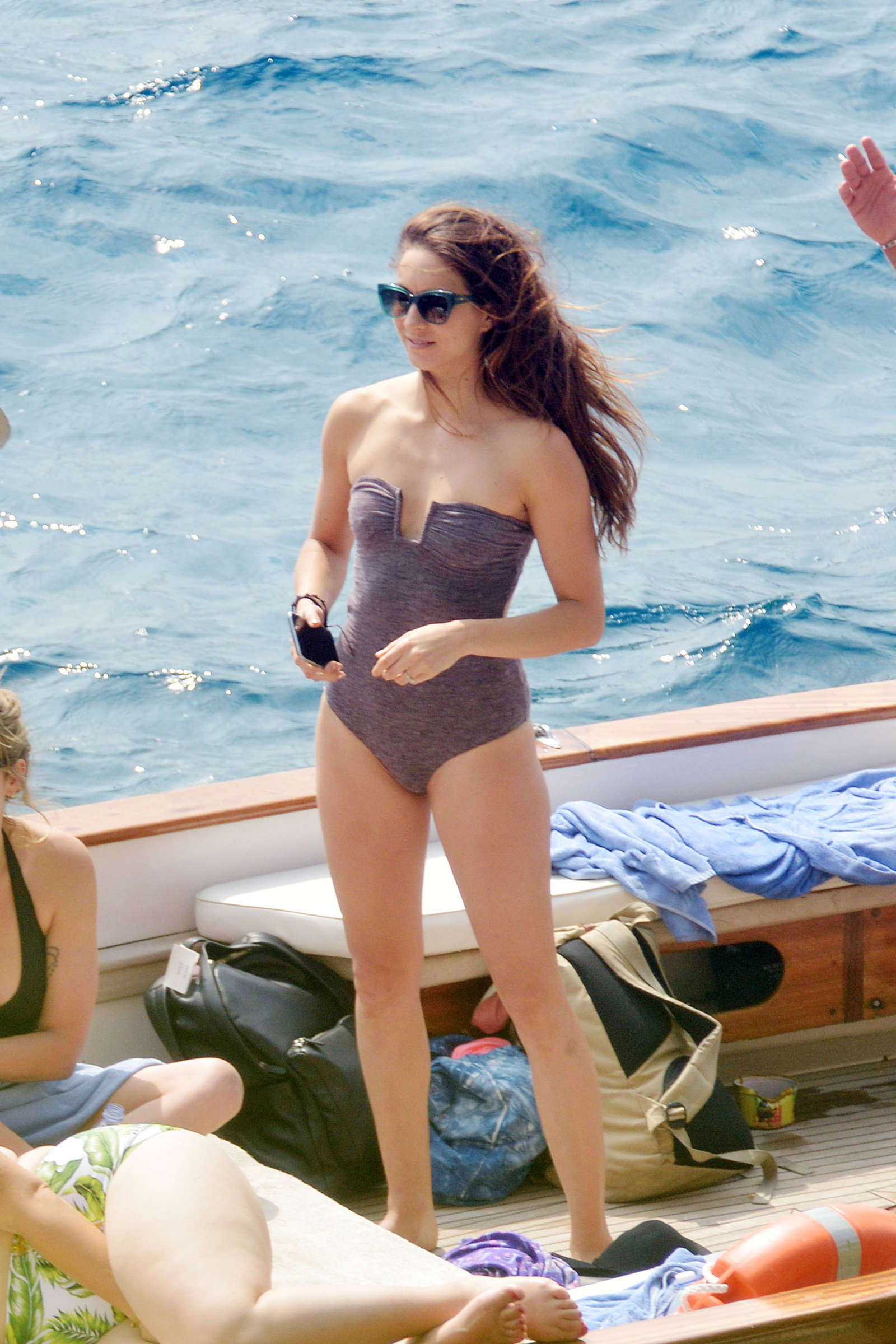 Ashley Benson 2016 : Ashley Benson, Shay Mitchell and Troian Bellisario on a boat in Capri -12