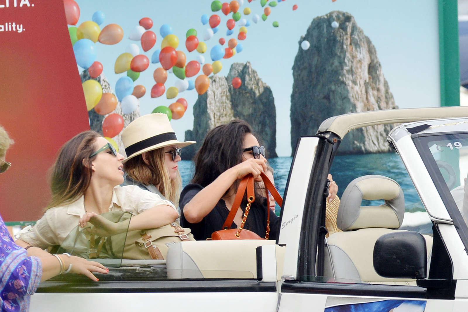 Ashley Benson 2016 : Ashley Benson, Shay Mitchell and Troian Bellisario on a boat in Capri -17