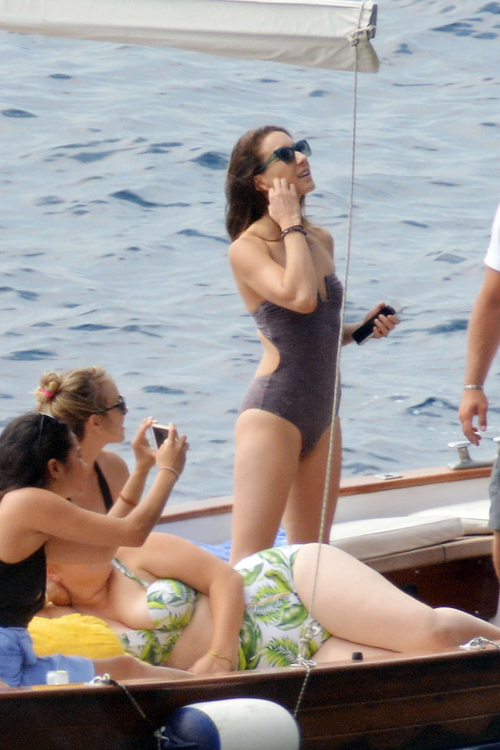 Ashley Benson 2016 : Ashley Benson, Shay Mitchell and Troian Bellisario on a boat in Capri -47