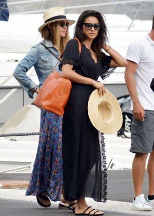Ashley Benson, Shay Mitchell and Troian Bellisario on a boat in Capri -55