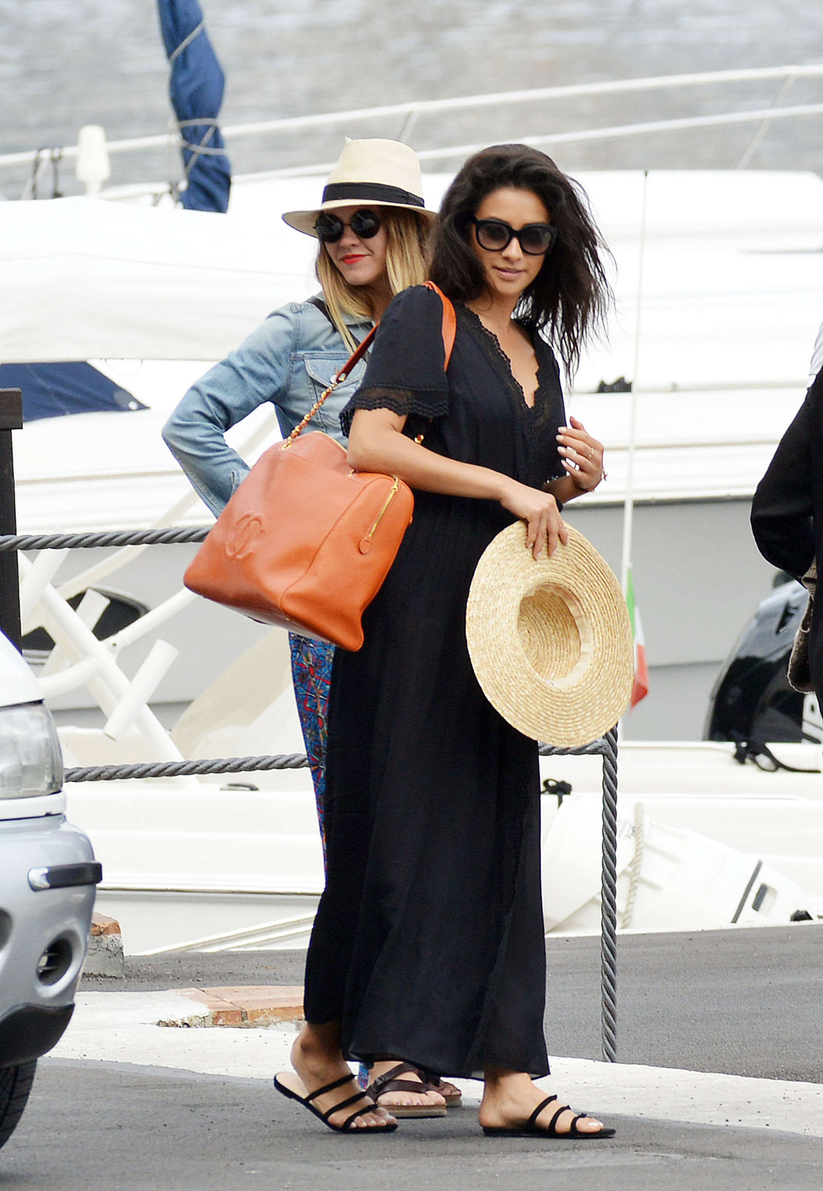 Ashley Benson 2016 : Ashley Benson, Shay Mitchell and Troian Bellisario on a boat in Capri -56