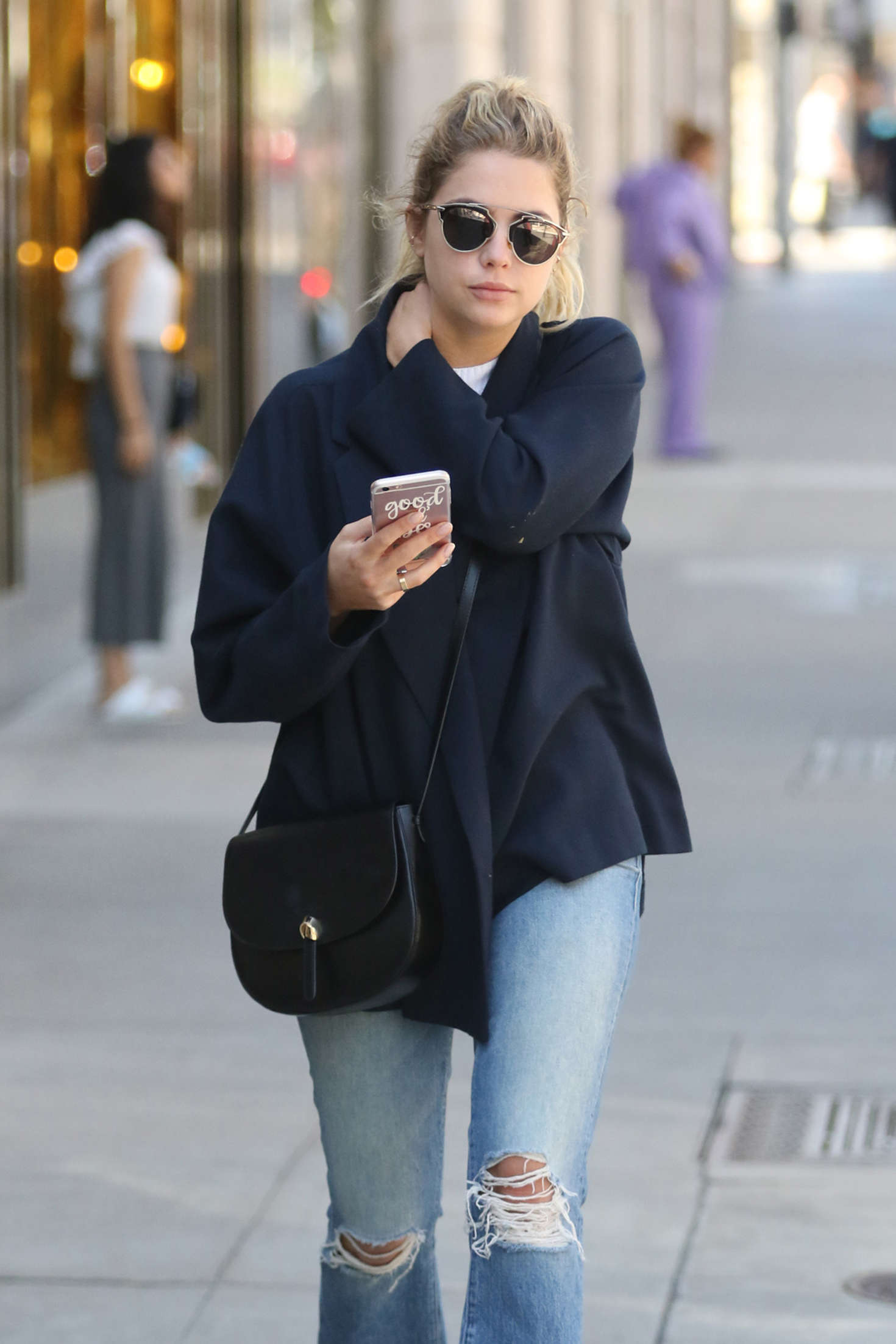 Ashley Benson - Shopping at Dior on Rodeo Drive in Beverly Hills