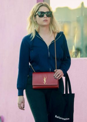 Ashley Benson - Shopping at Revolution in West Hollywood