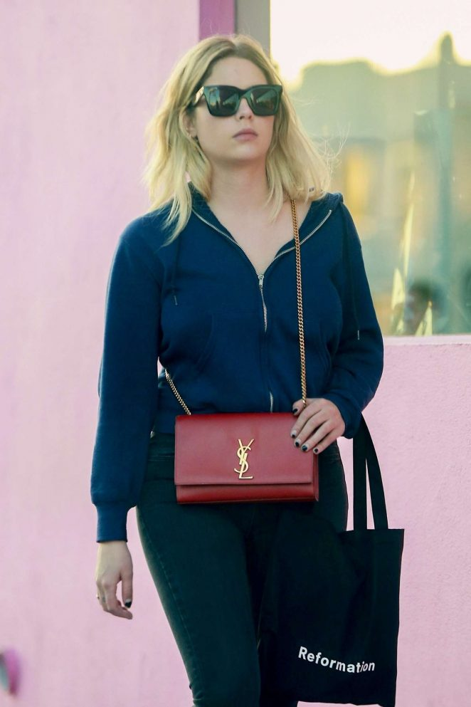 Ashley Benson – Shopping at Revolution in West Hollywood