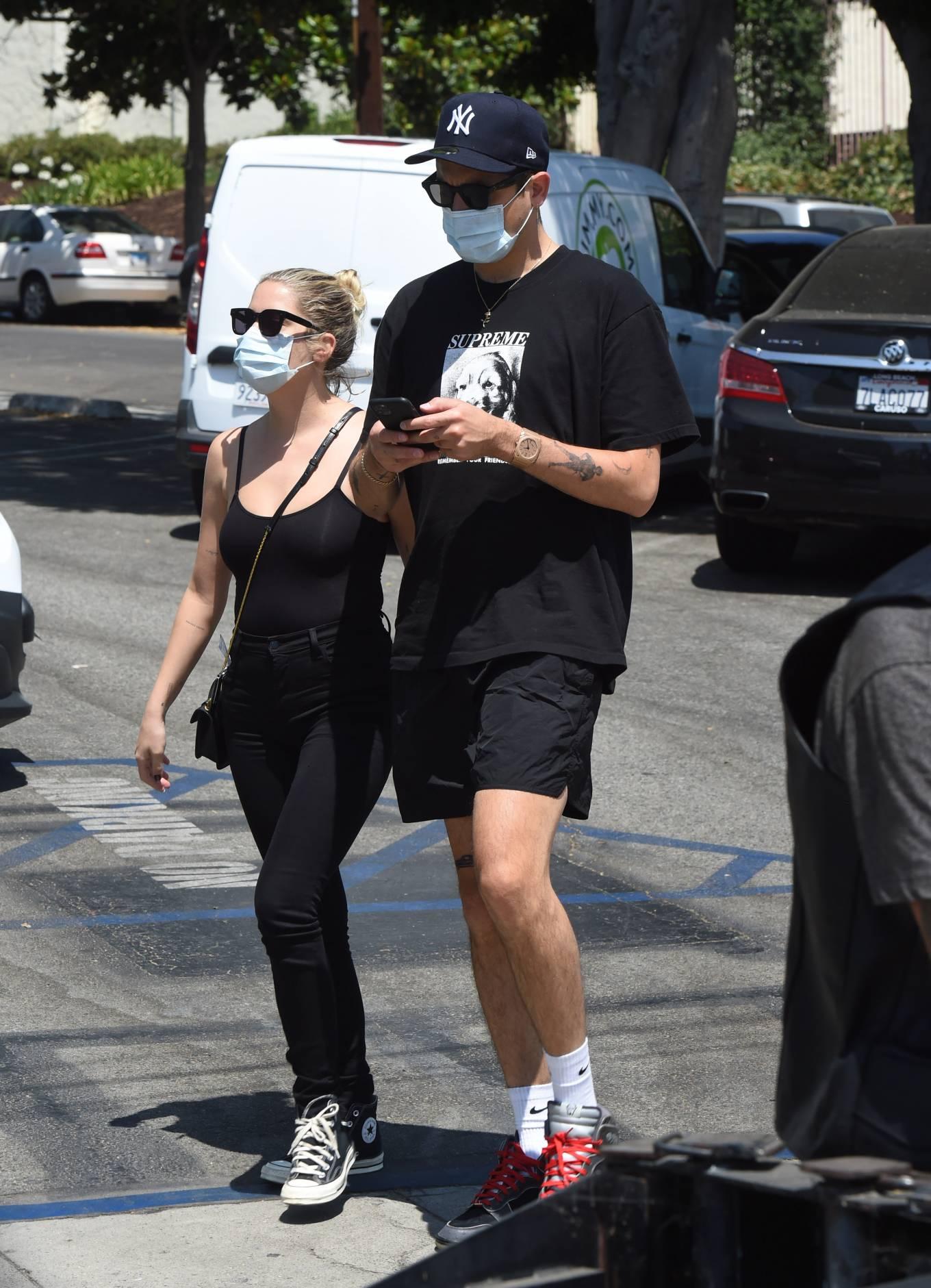 Ashley Benson 2020 : Ashley Benson – Shopping candids at the Le Labo perfume store in LA-01