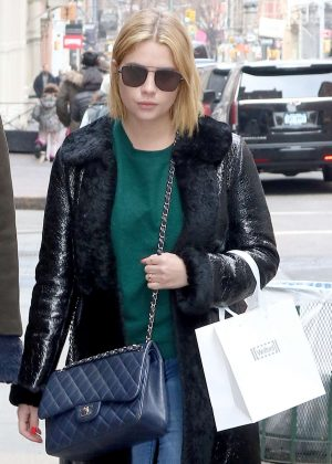 Ashley Benson shopping in New York