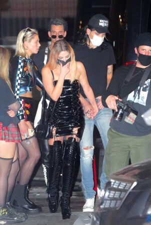 Ashley Benson - Spotted while out for Halloween in Los Angeles