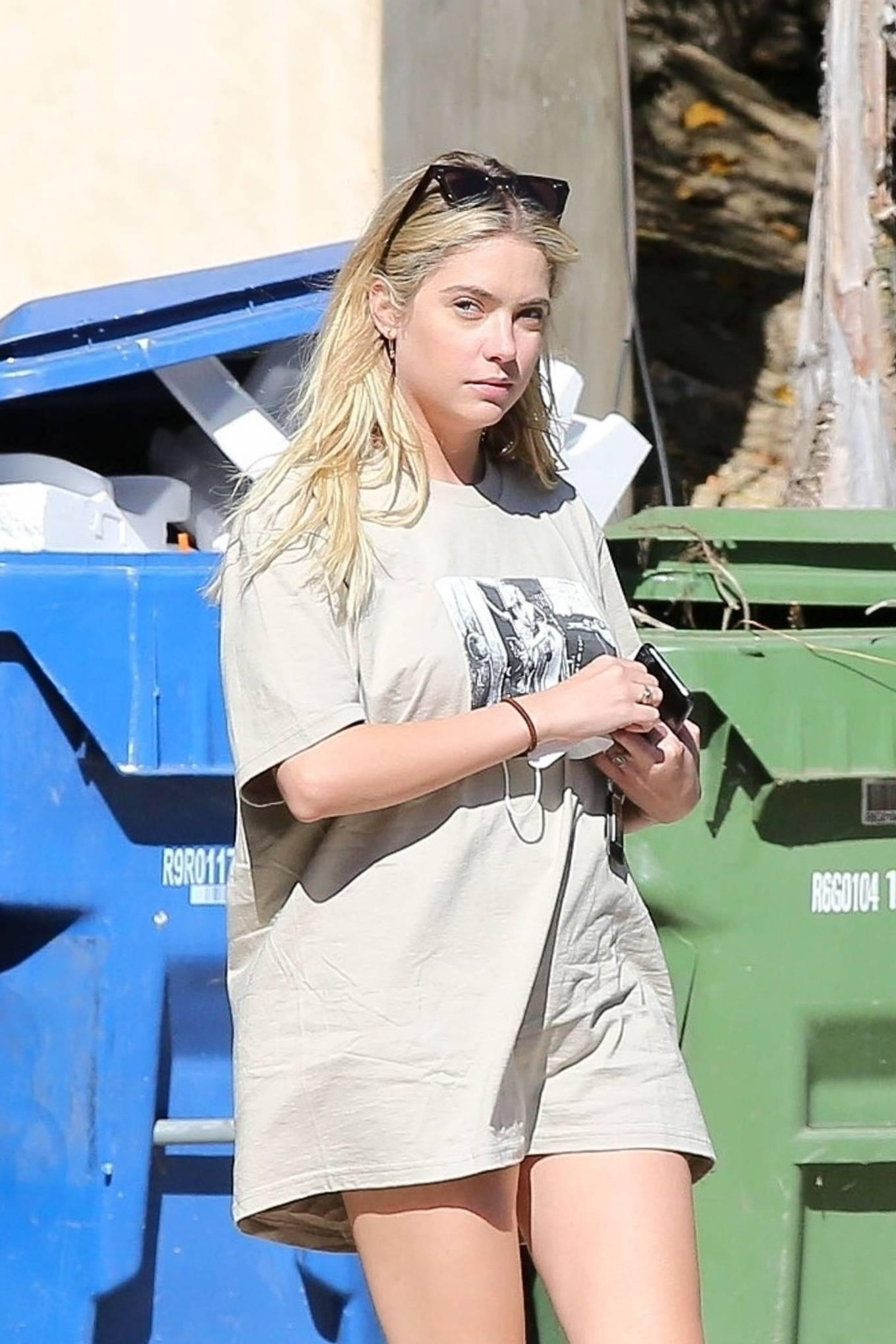 Ashley Benson - Spotted while out in Los Feliz