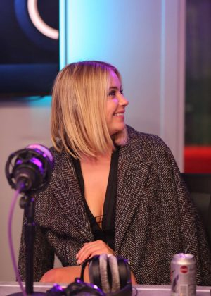 Ashley Benson - Visits Fun Radio France in Paris