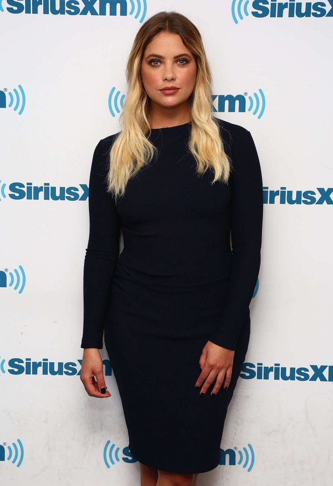 Ashley Benson - Visits the SiriusXM Studios in NYC