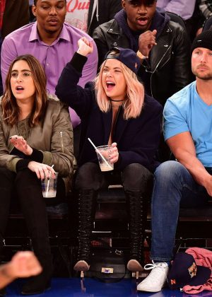 Ashley Benson - Washington Wizards Vs. New York Knicks in New York