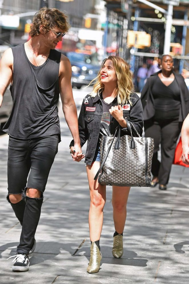 Ashley Benson With Boyfriend Out In Nyc 03 Gotceleb