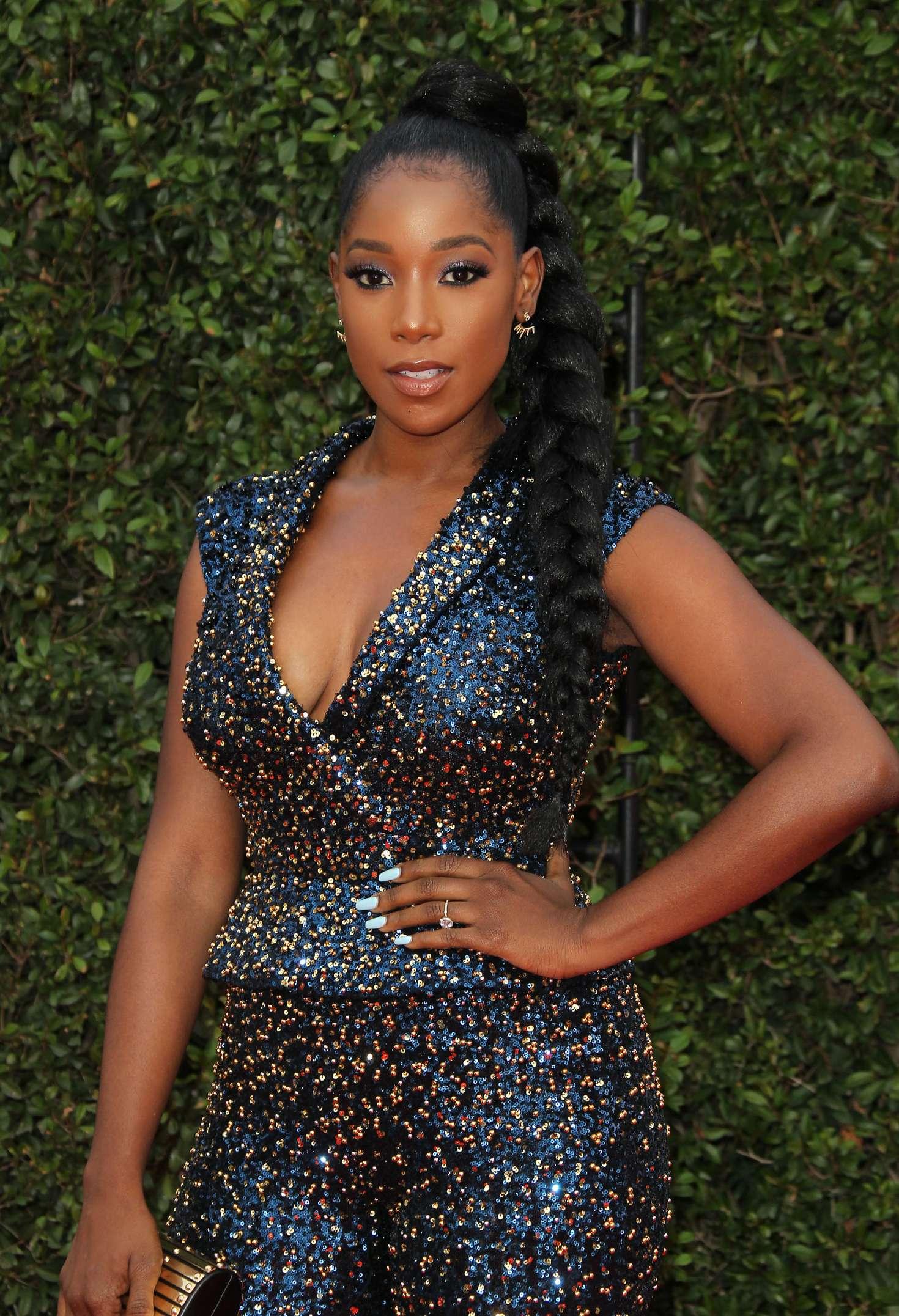 Ashley Blaine - 49th NAACP Image Awards in Pasadena