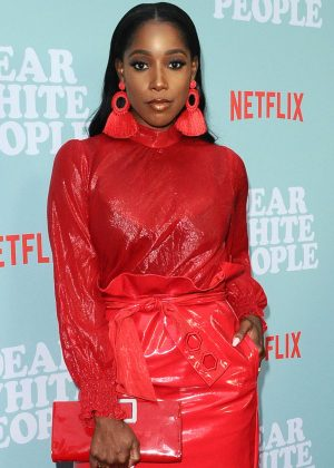 Ashley Blaine Featherson - 'Dear White People' TV Show Premiere in Los Angeles