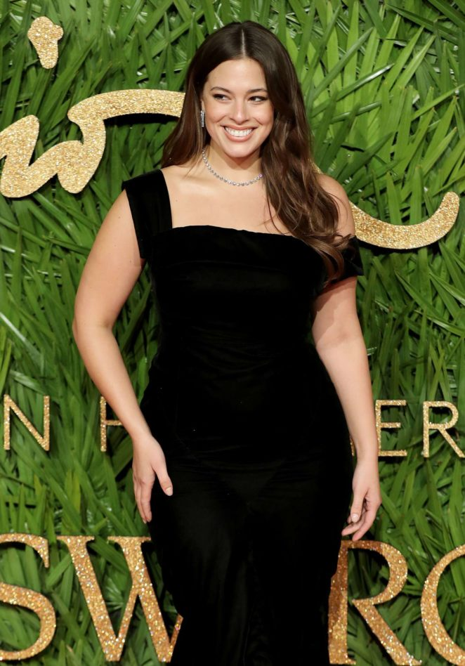 Ashley Graham - 2017 Fashion Awards in London