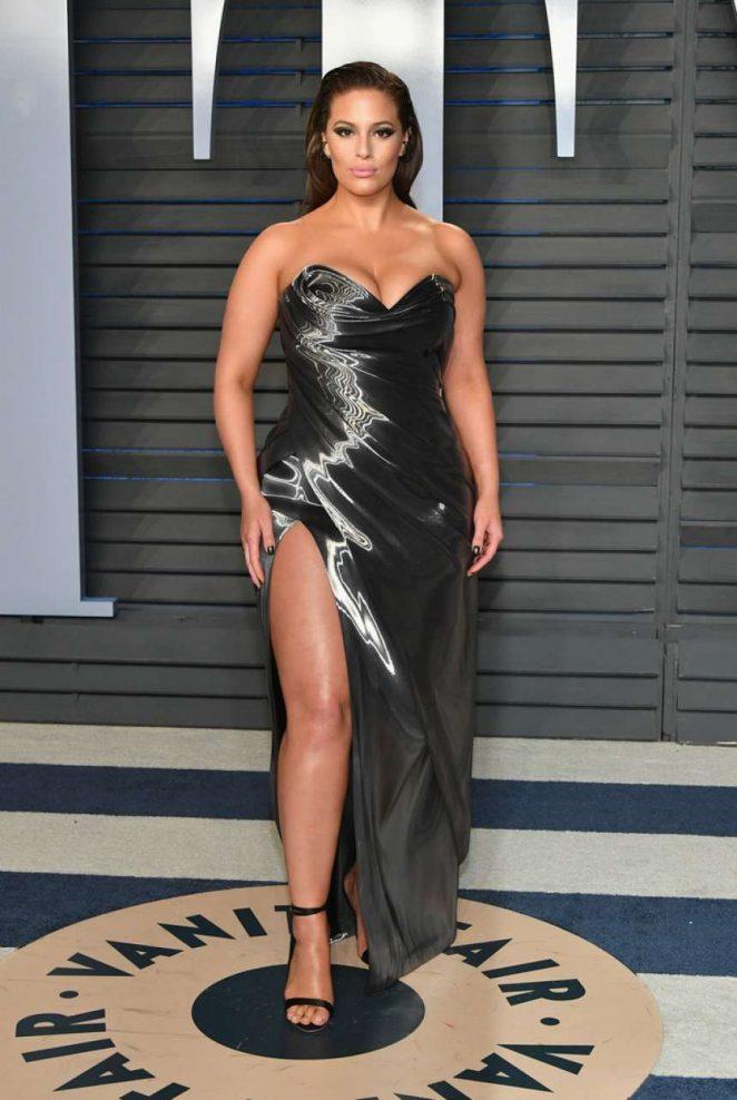 Ashley Graham - 2018 Vanity Fair Oscar Party in Hollywood