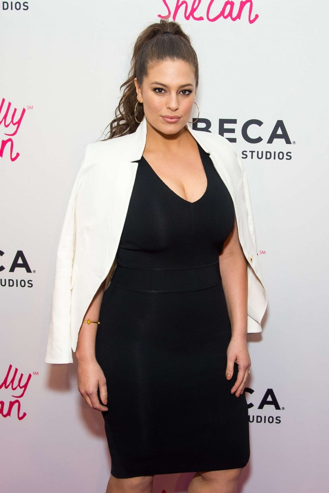 Ashley Graham - 'Actually She Can' Screening at 2016 Tribeca Film Festival in NY