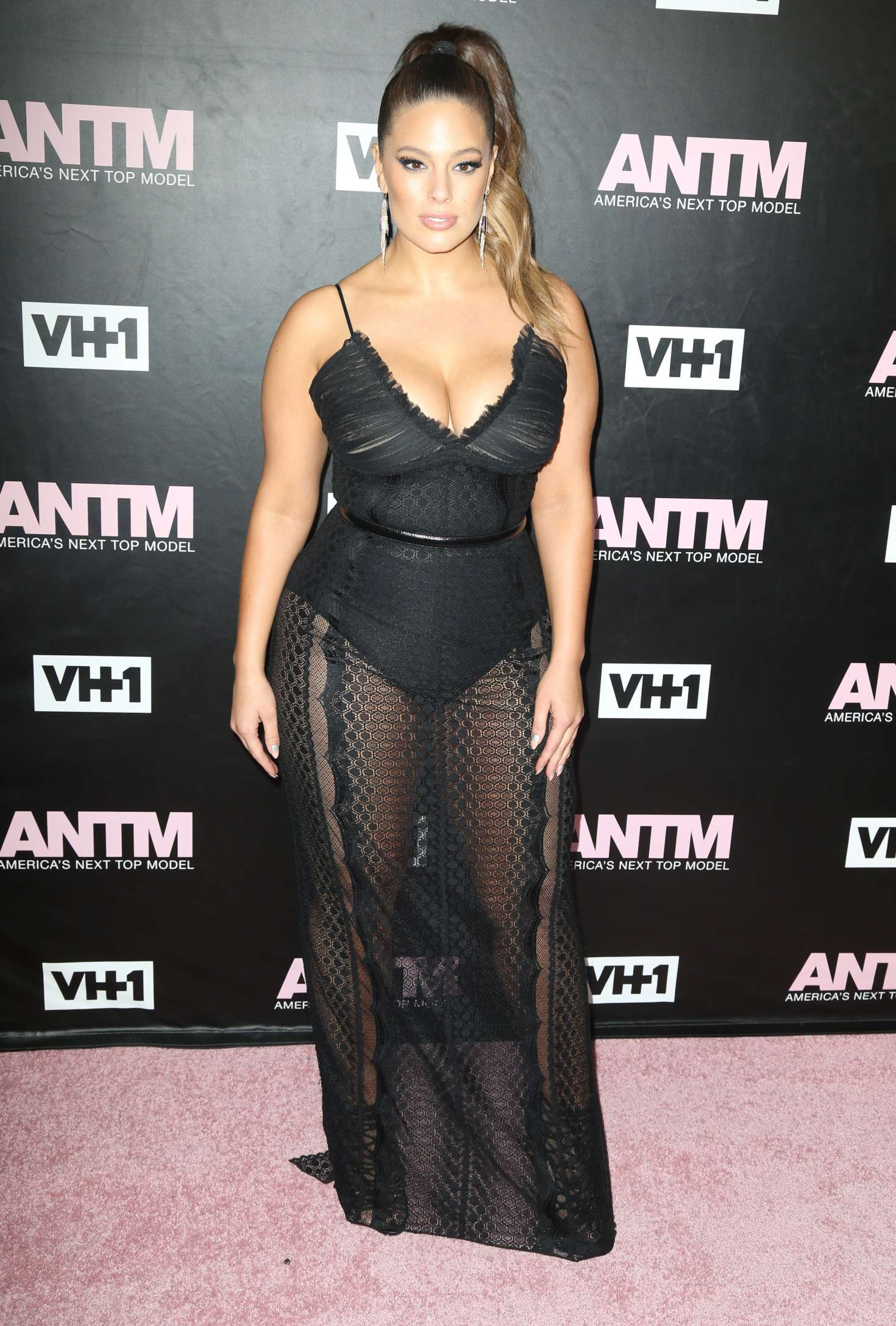 Ashley Graham – America's Next Top Model Premiere Party in New York
