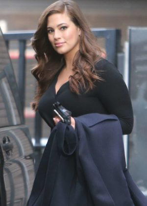 Ashley Graham at ITV Studios in London