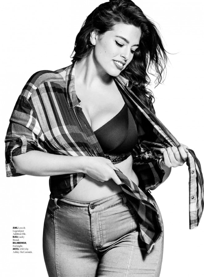 Ashley Graham - Cosmopolitan Mexico (April 2016)
