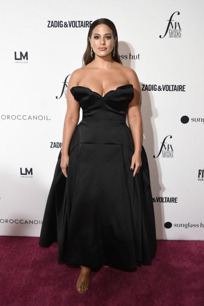 Ashley Graham - Daily Front Row's 2018 Fashion Media Awards in New York