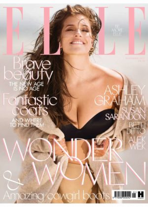 Ashley Graham - Elle UK Magazine (November 2017)