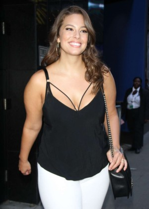 Ashley Graham - 'Good Morning America' in New York City