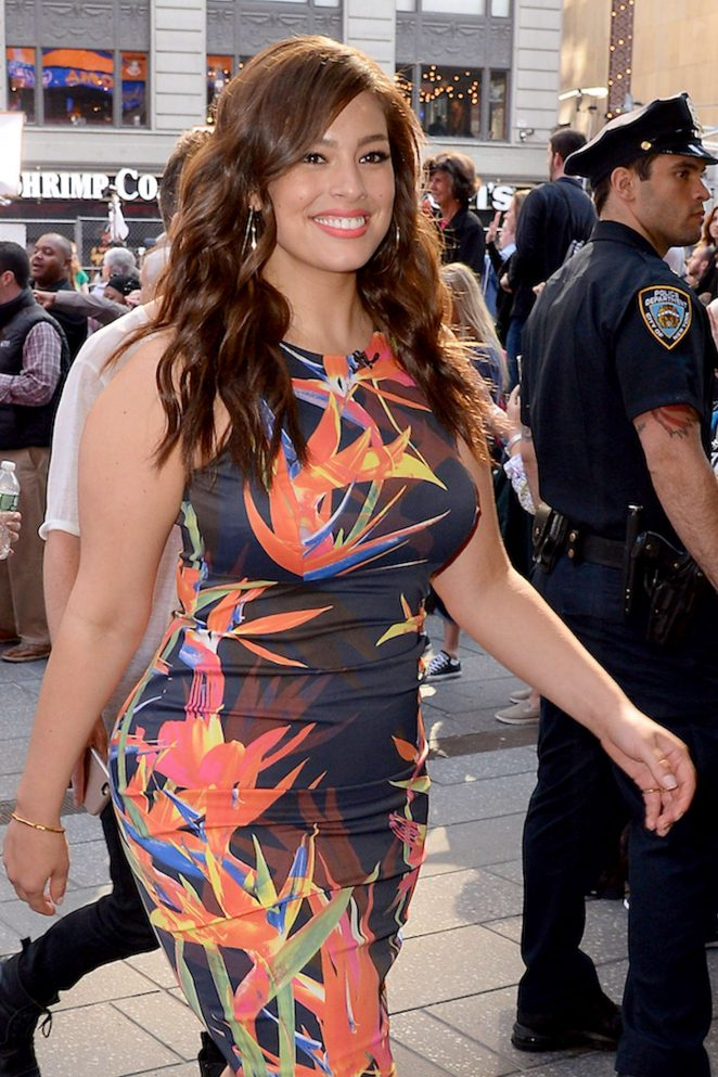 Ashley Graham - Good Morning America in New York