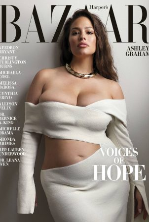 Ashley Graham - Harper's Bazaar US Cover (July 2020)